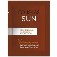 Douglas Collection Self-Tanning Face And Body Wipe