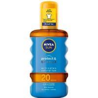 Nivea Nivea SUN Protect&Bronze Tan Activating Protecting Oil SPF20