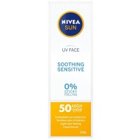 Nivea Nivea SUN UV Face Cream for Sensitive Skin SPF50
