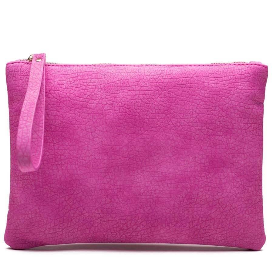 JJDK - Alessa Soft Pink Clutch -