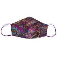 Tie-Me-Up! Tie-Me-Up Silk Mask London Paisley Purple