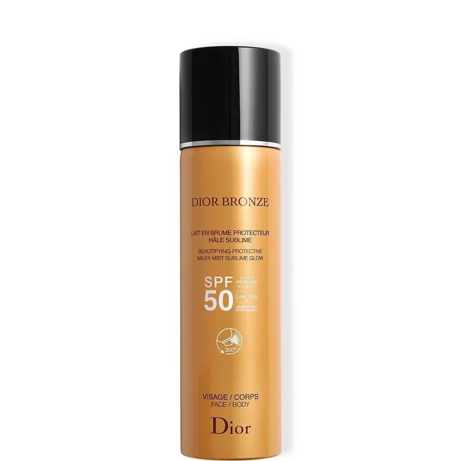 DIOR - Dior Bronze Beautifying Protective Milky Mist Sublime Glow SPF 50 -