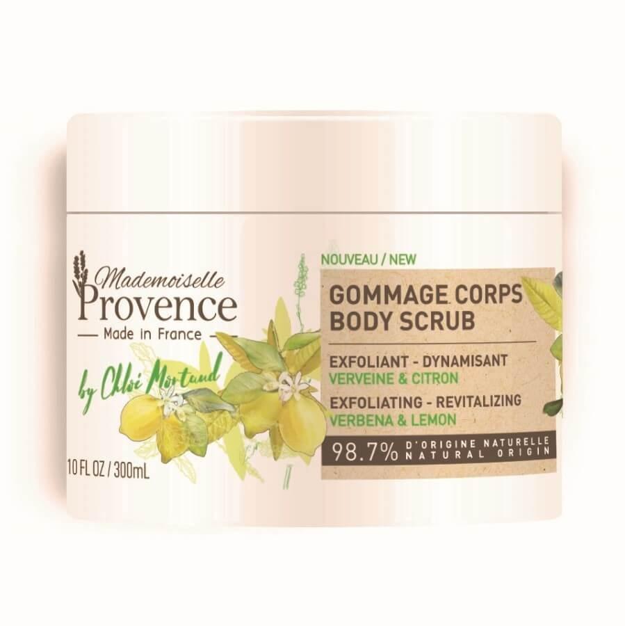 Mademoiselle Provence - Verbena & Lemon Exfoliating & Revitalizing Body Scrub -