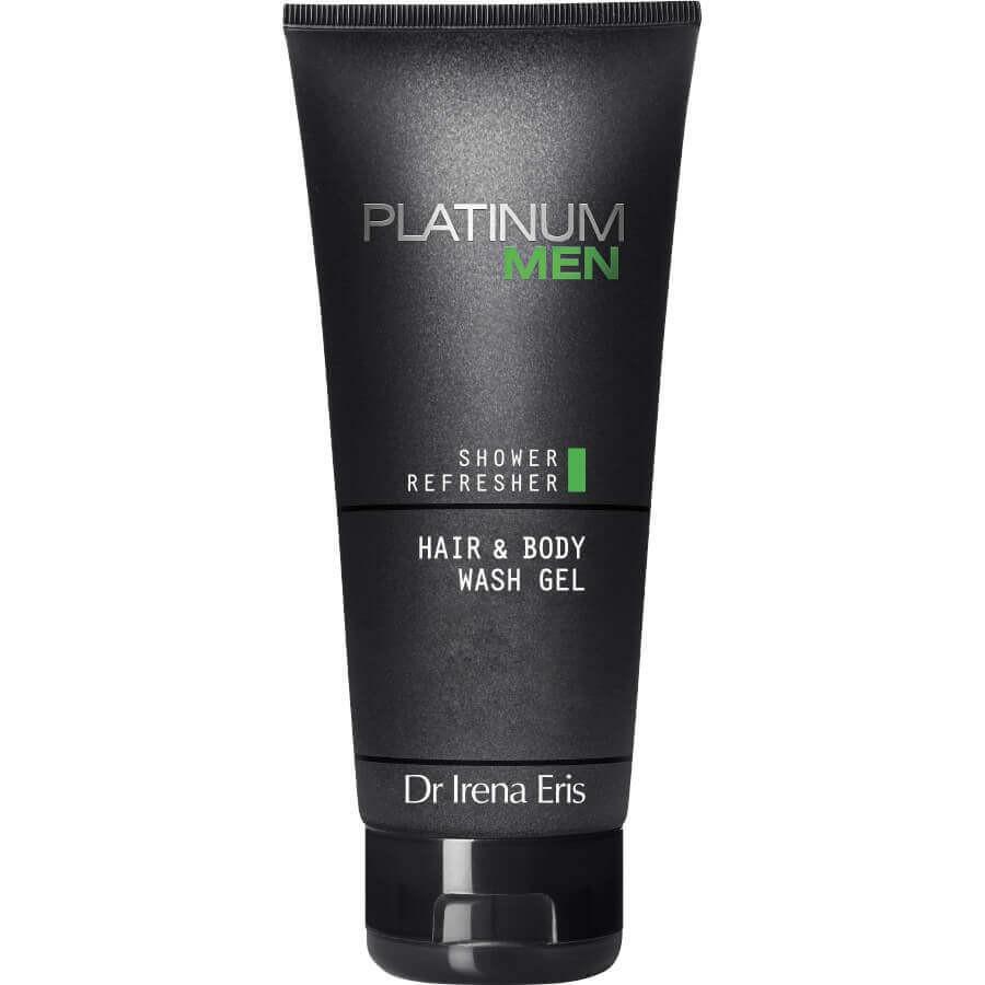 Dr Irena Eris - Platinum Men Shower Refresher Hair & Body Wash Gel -