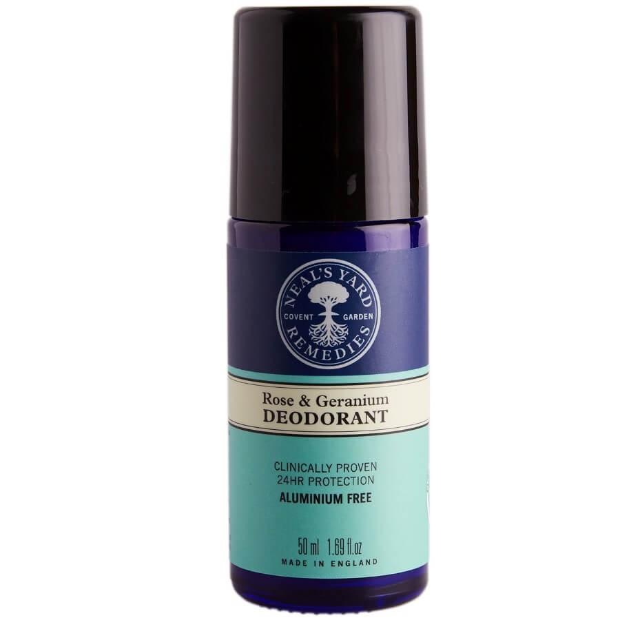 Neal's Yard Remedies - Roll On Deodorant Rose&Geranium -