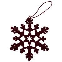 Douglas Collection Special Moments Ornament Snowflake Bourdeaux
