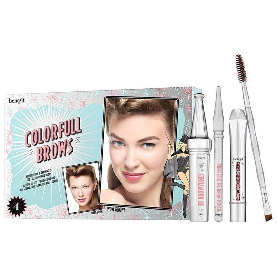 Benefit Cosmetics - Colorfull Brows Enhancing Kit - 02 - Light / Medium