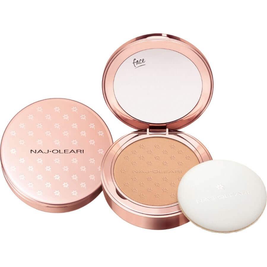 Naj Oleari - Skin Caress Pressed Powder - 01 - Warm Beige