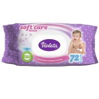 Violeta  Baby Vlažne Maramice Soft Care