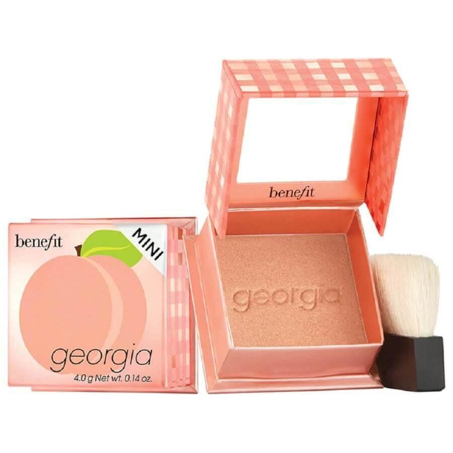 Benefit Cosmetics - Georgia 2.0 Golden Peach Blush Mini -