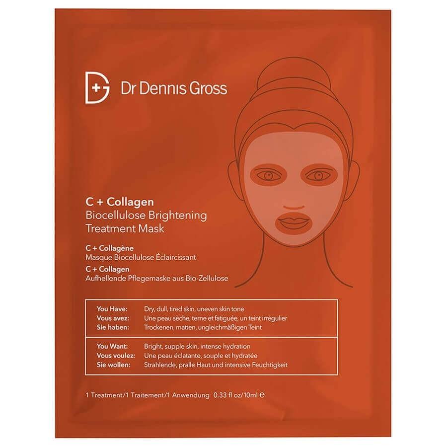 Dr Dennis Gross - C + Collagen Biocellulose Brightening Treatment Mask -