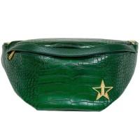 Jeffree Star Cosmetics Green Crocodile Side Bag