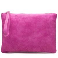 JJDK Alessa Soft Pink Clutch
