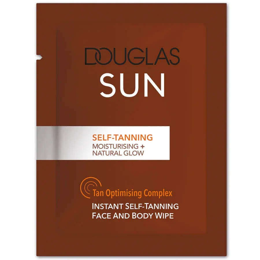 Douglas Collection - Self-Tanning Face And Body Wipe -