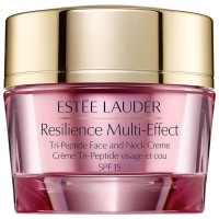 Estée Lauder Resilience Multi-Effect Tri-Peptide Face And Neck Creme Dry Skin SPF 15