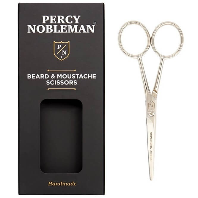 Percy Nobleman - Beard & Moustache Scissors -