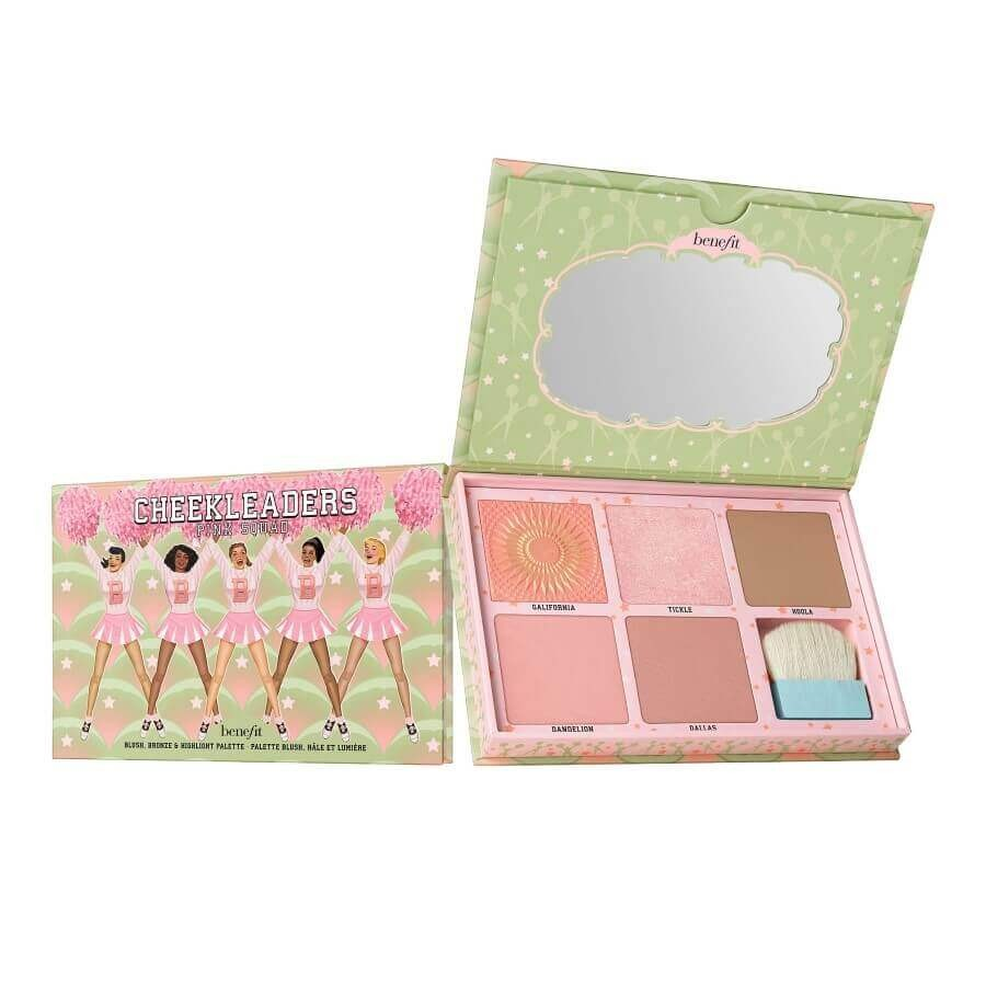 Benefit Cosmetics - Cheekleaders Pink Squad Cheek Palette -