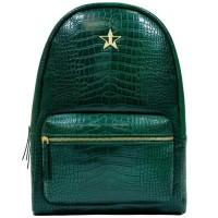 Jeffree Star Cosmetics Green Crocodile Backpack
