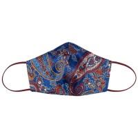 Tie-Me-Up! Tie-Me-Up Silk Mask London Paisley Bordo